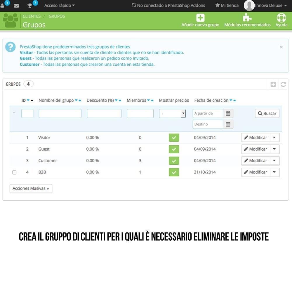 module - B2B - Eliminazione delle imposte di fatturazione (B2B) - 2