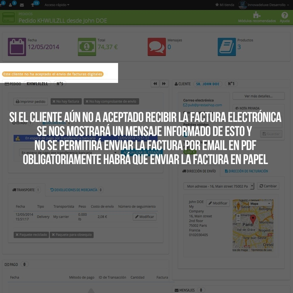 module - Contabilidad y Facturas - Factura Electrónica (cumplimiento normativa comercio) - 5