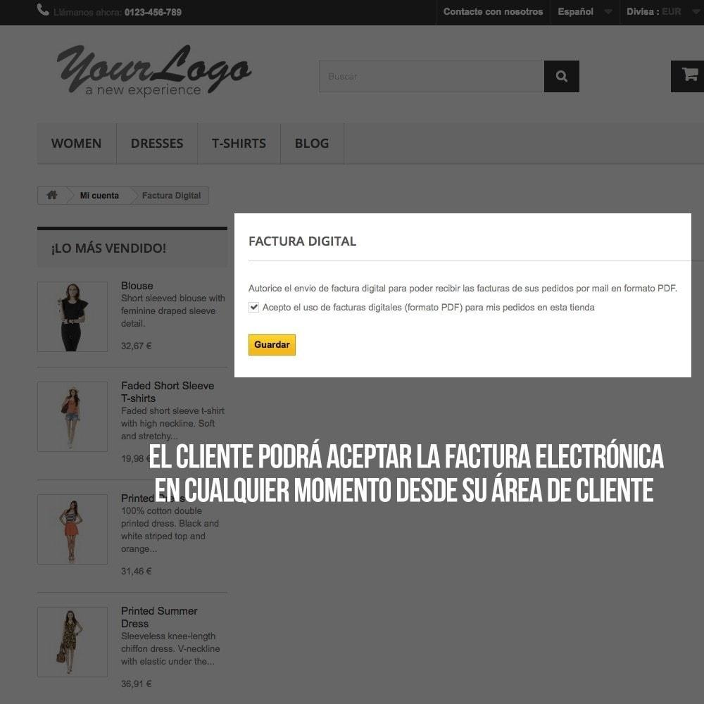 module - Contabilidad y Facturas - Factura Electrónica (cumplimiento normativa comercio) - 8