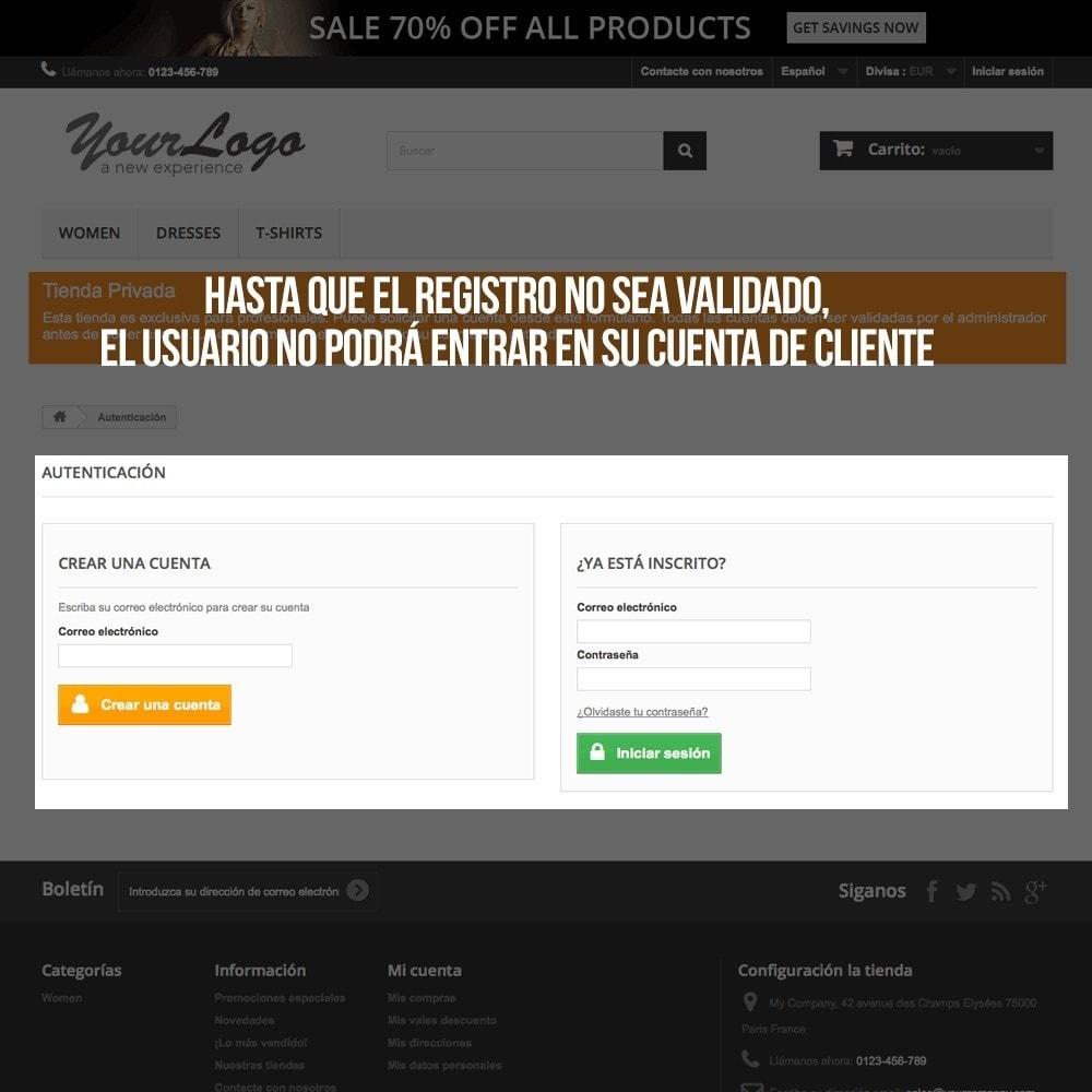 module - B2B - Geverifieerde gebruikersregistratie voor B2B webwinkels - 5