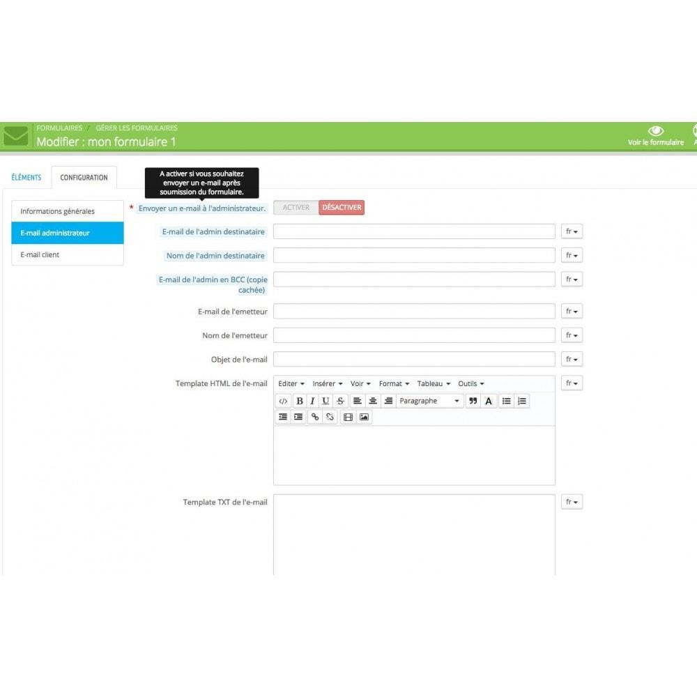 module - Formulaires de Contact & Sondages - Création de multiples formulaires personnalisés - 6