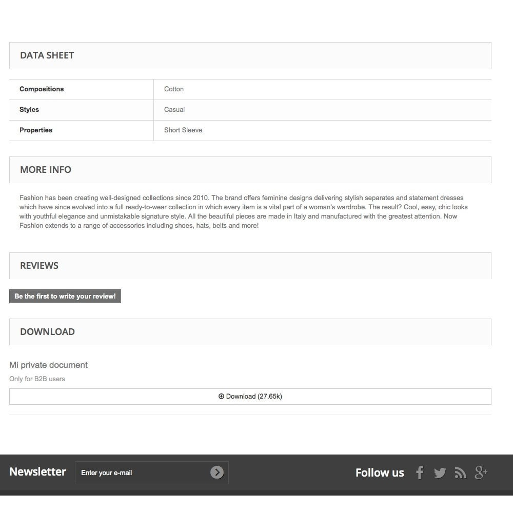 module - Gestione clienti - Nascondere allegati di prodotto per gruppi di clienti - 4