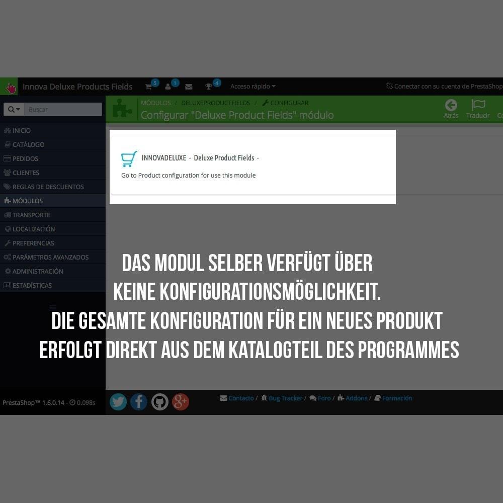 module - Zusatzinformationen & Produkt-Tabs - Zusätzlichen Informationen die einzelnen Produktseiten - 3