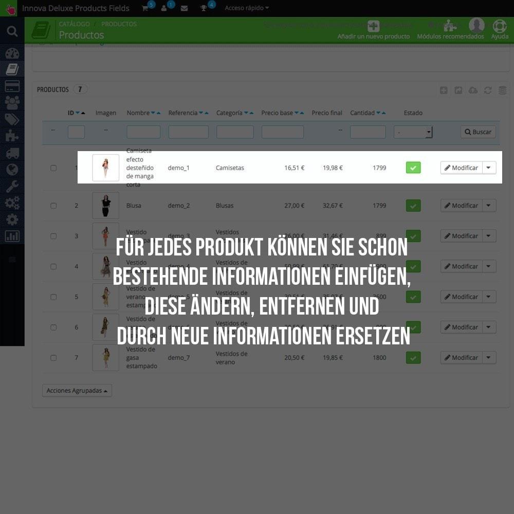 module - Zusatzinformationen & Produkt-Tabs - Zusätzlichen Informationen die einzelnen Produktseiten - 4