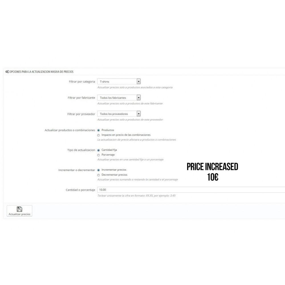 module - Snelle & seriematige bewerking - Massive Price Update - 4