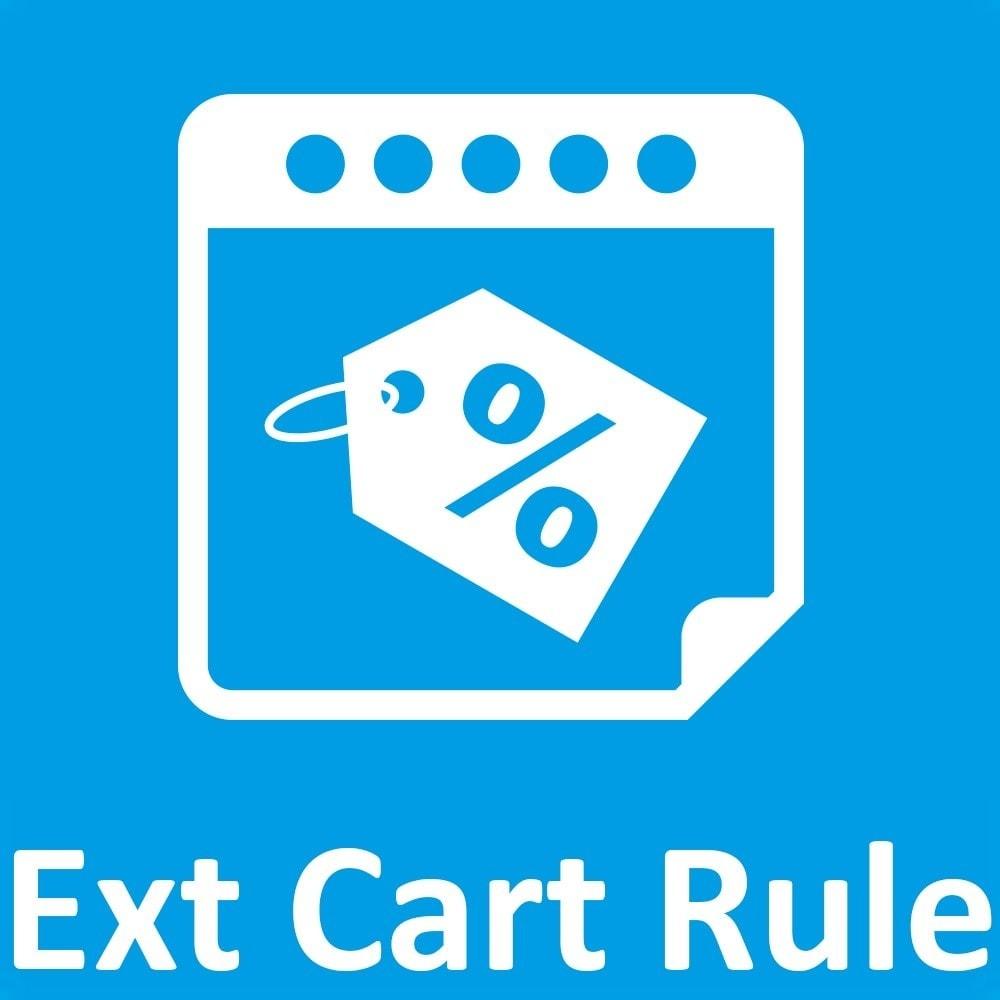 module - Акции и Подарки - Olea Extended Cart Rules / Règles Panier Etendues - 1