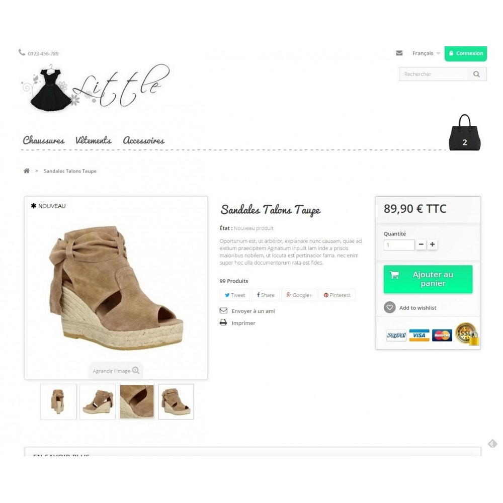 theme - Mode & Chaussures - Little - 4