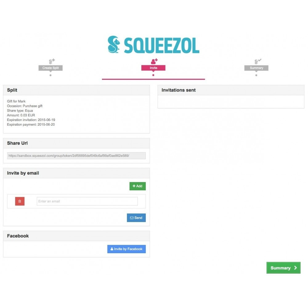 module - Inne środki płatności - Squeezol Split - Pay with Squeezol(split with friends) - 5