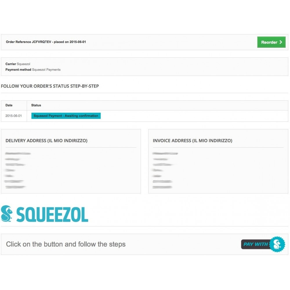 module - Inne środki płatności - Squeezol Split - Pay with Squeezol(split with friends) - 8