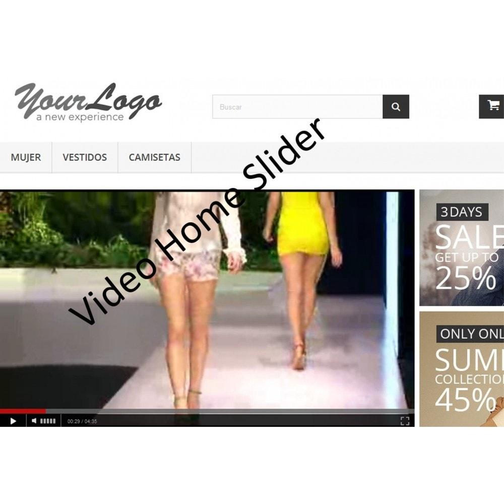 module - Sliders y Galerías de imágenes - Video Home Slider - 1