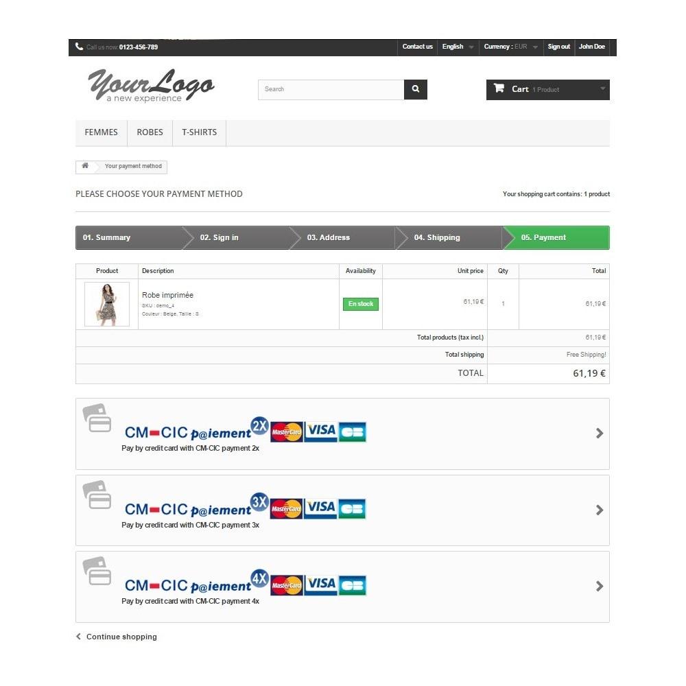 bundle - De aanbiedingen van dit moment: bespaar geld! - CM-CIC / Monetico Payment in several instalments [1x Nx] (Pack) - 5