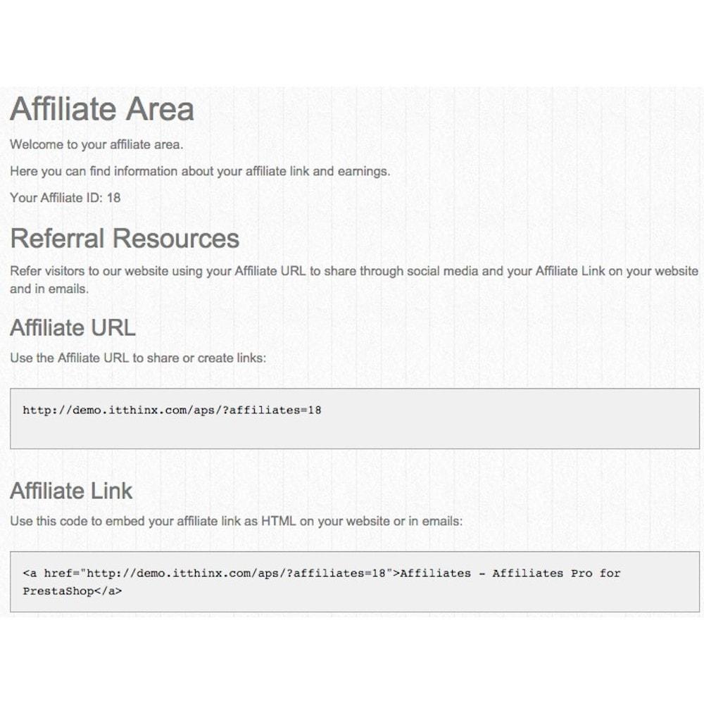 module - Płatne pozycjonowanie & Afiliacja - Affiliates Pro - 4