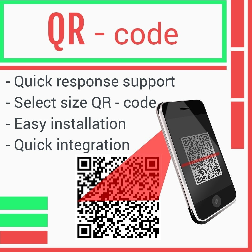 module - Information supplémentaire & Onglet produit - QR code for your product page - 1