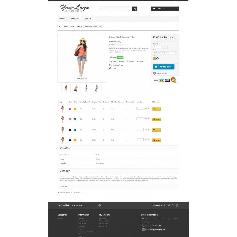 module - Combinaciones y Personalización de productos - Product Customization Combinations Attributes with Cost - 6