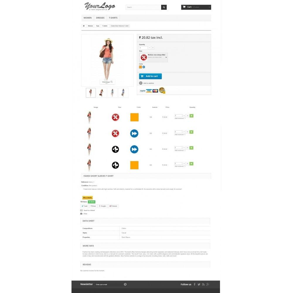 module - Combinaciones y Personalización de productos - Product Customization Combinations Attributes with Cost - 8