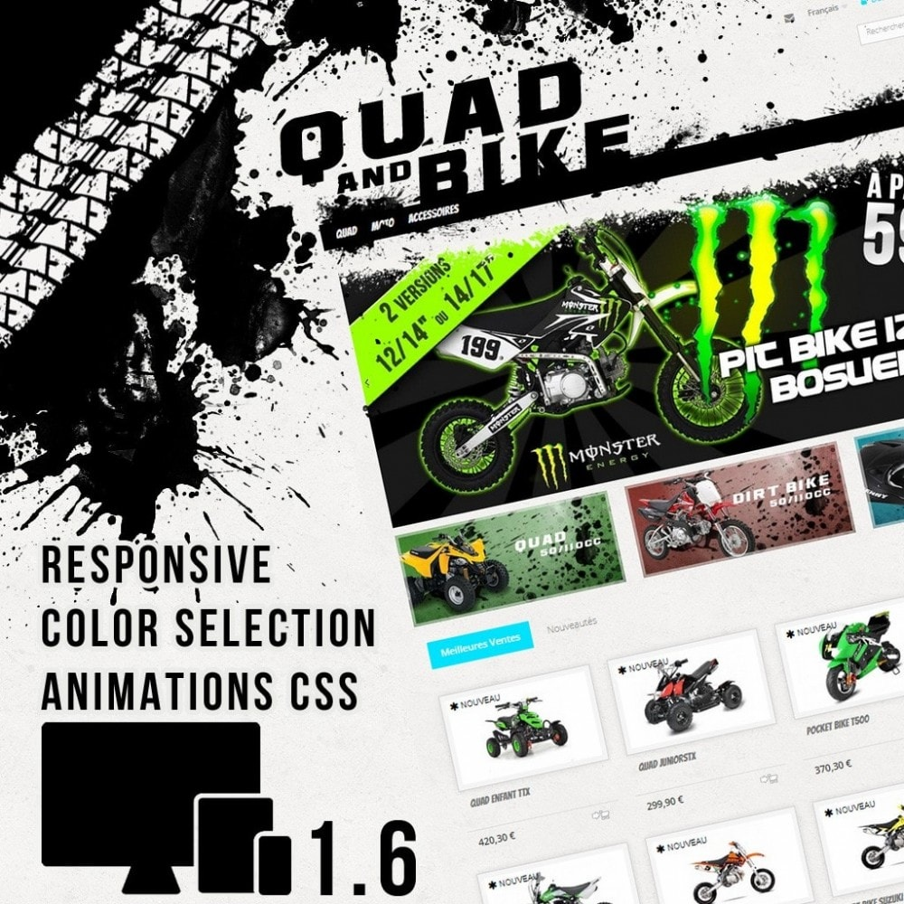 theme - Auto & Moto - Quad and Bike - 1
