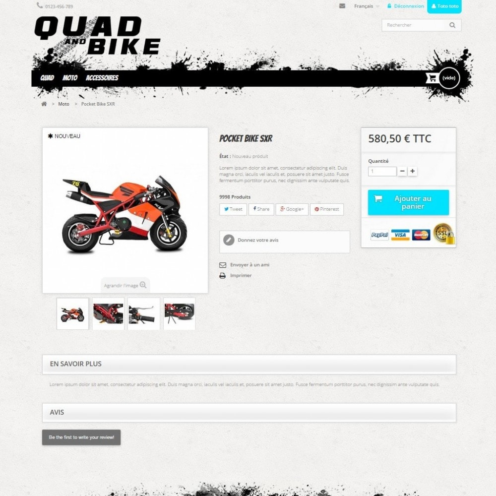 theme - Auto & Moto - Quad and Bike - 3