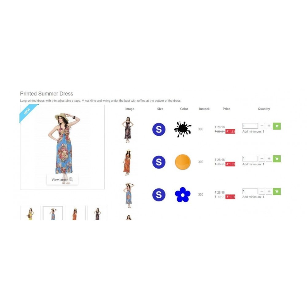 module - Combinaciones y Personalización de productos - Product Customization Combinations Attributes with Cost - 10