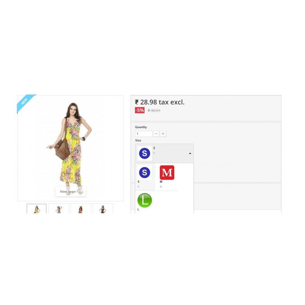 module - Combinaciones y Personalización de productos - Product Customization Combinations Attributes with Cost - 12