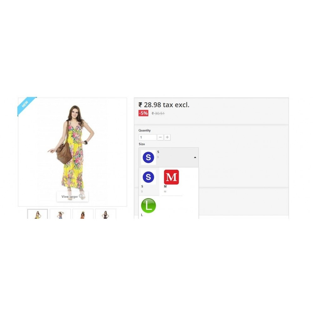 module - Diversificação & Personalização de Produtos - Product Customization Combinations Attributes with Cost - 12