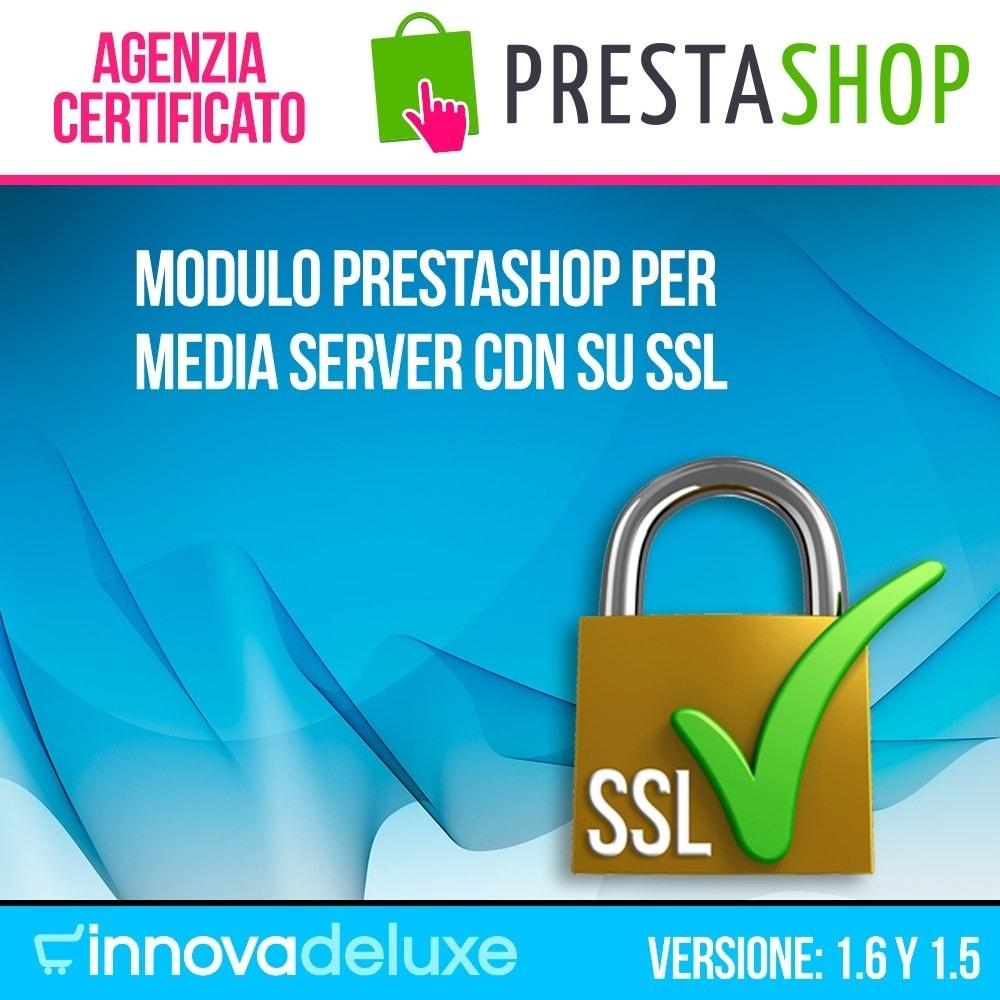 module - Security & Access - Media server CDN su SSL - 1