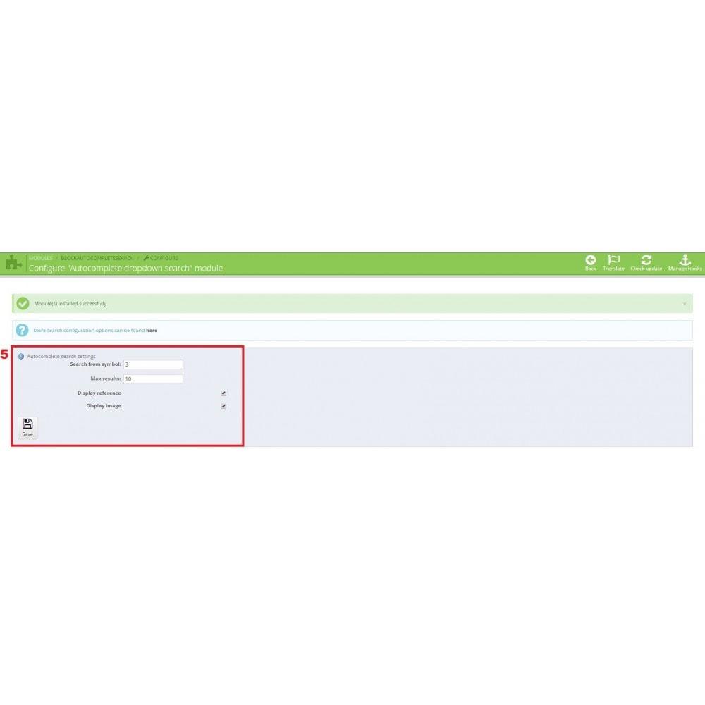 module - Suche & Filter - Autocomplete dropdown search - 4