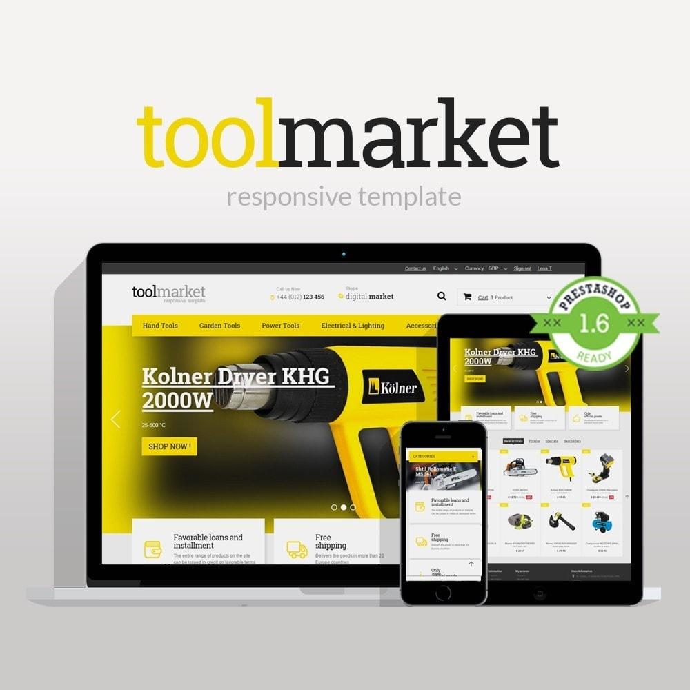 theme - Casa & Jardins - Tools Market - 1