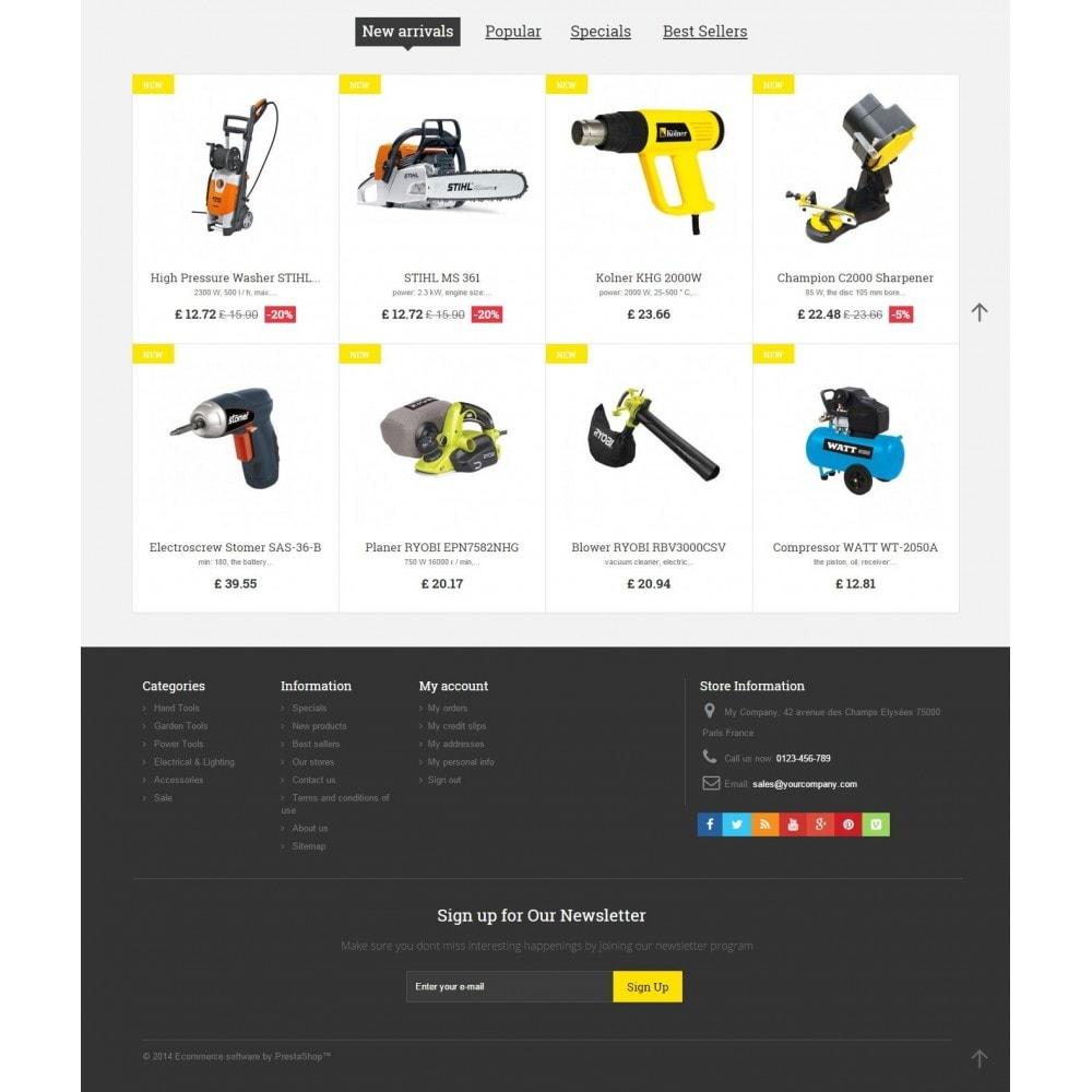 theme - Casa & Jardins - Tools Market - 4