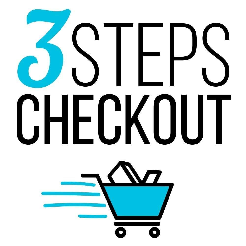 module - Procedury składania zamówień - [3 PC] Three Pages Checkout - 1