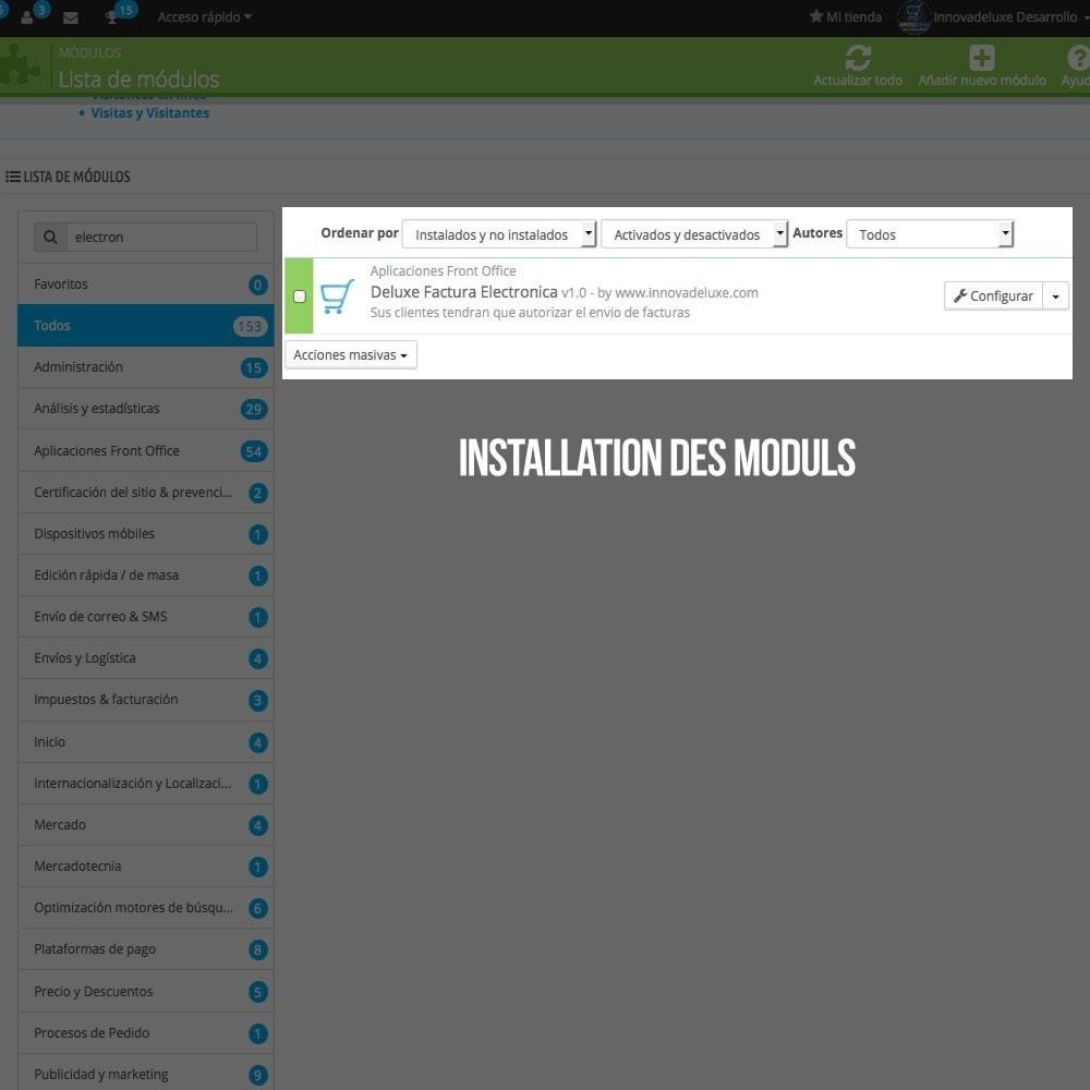 module - Buchhaltung & Rechnung - Elektronische Rechnung (gesetzlichen Vorgaben) - 2