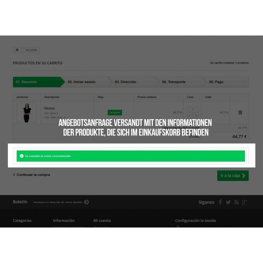 module - Angebotsmanagement - Neues Preisangebot für Einkaufskorb - 3
