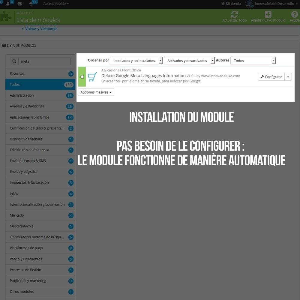 module - International & Localisation - Info pour Google des langues de votre boutique - 2