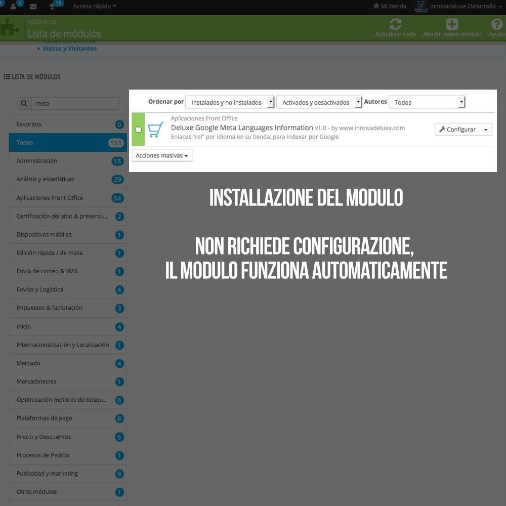 module - Lingue & Traduzioni - Informazioni per Google sulle lingue del tuo negozio - 2