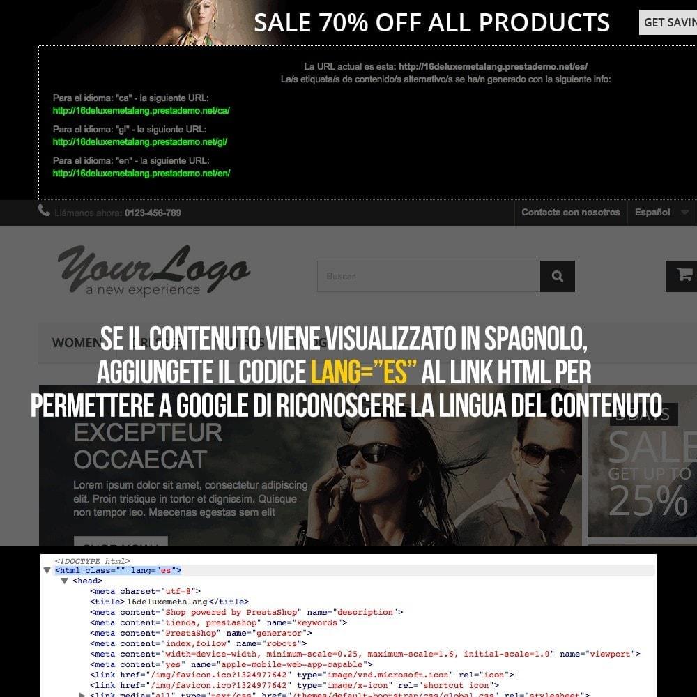 module - Lingue & Traduzioni - Informazioni per Google sulle lingue del tuo negozio - 4