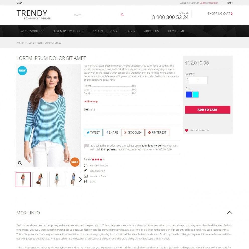 theme - Fashion & Shoes - Trendy - Fashion Store Clothes - 3