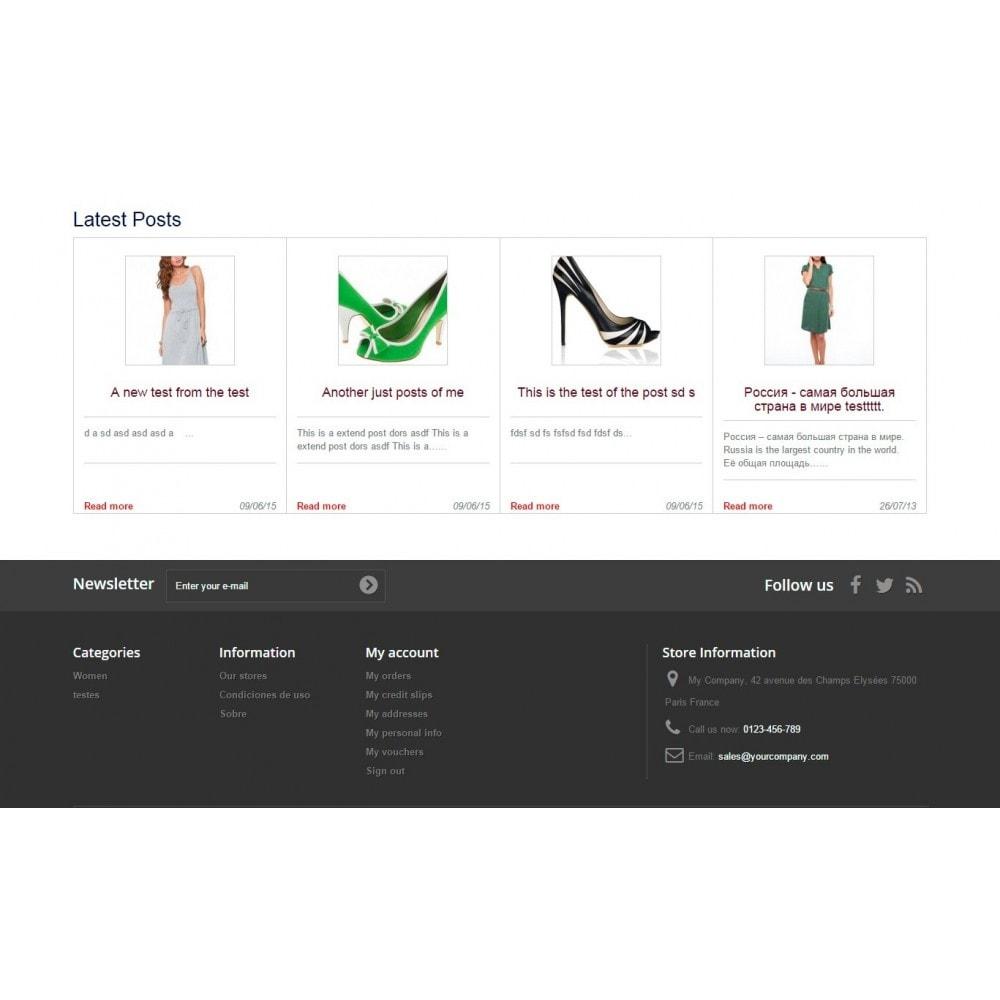 module - Blog, Fórum & Notícias - Wpress - Wordpress in Prestashop - 10