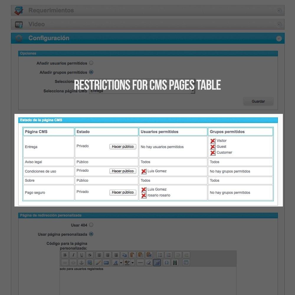 module - B2B - Privé SMS-pagina's (Privé inhoud) B2B - 4