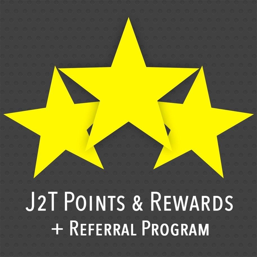 module - Fidélisation & Parrainage - J2T Point & Rewards + Referral Program - 1