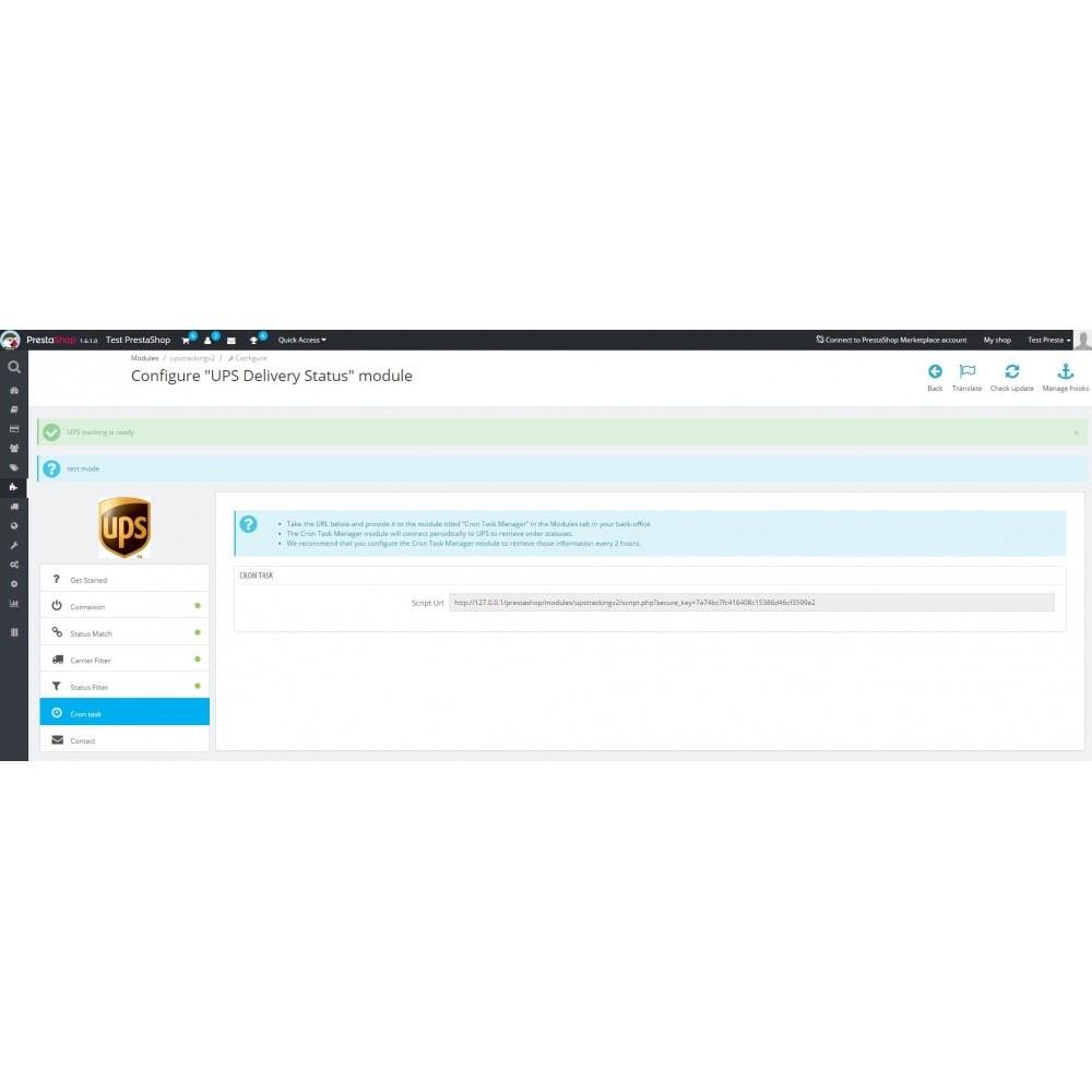 module - Tracciamento Spedizione - UPS Delivery Status - 7