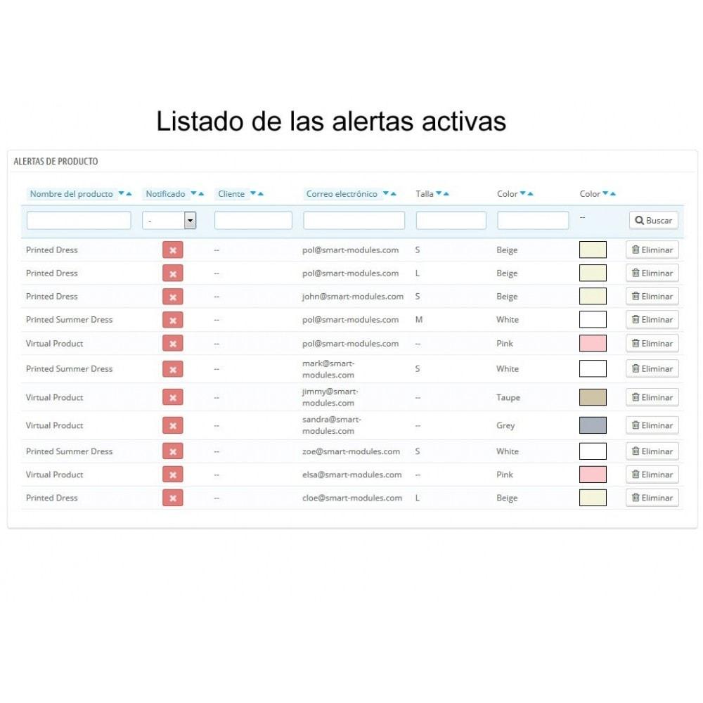 module - E-mails y Notificaciones - Alertas de Producto - 4
