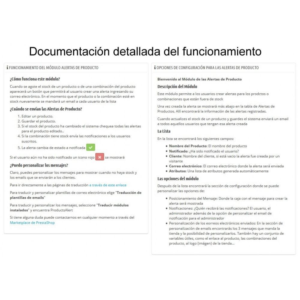 module - E-mails y Notificaciones - Alertas de Producto - 5