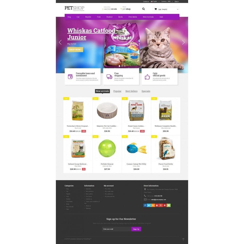 theme - Animales y Mascotas - Pet Shop - 2