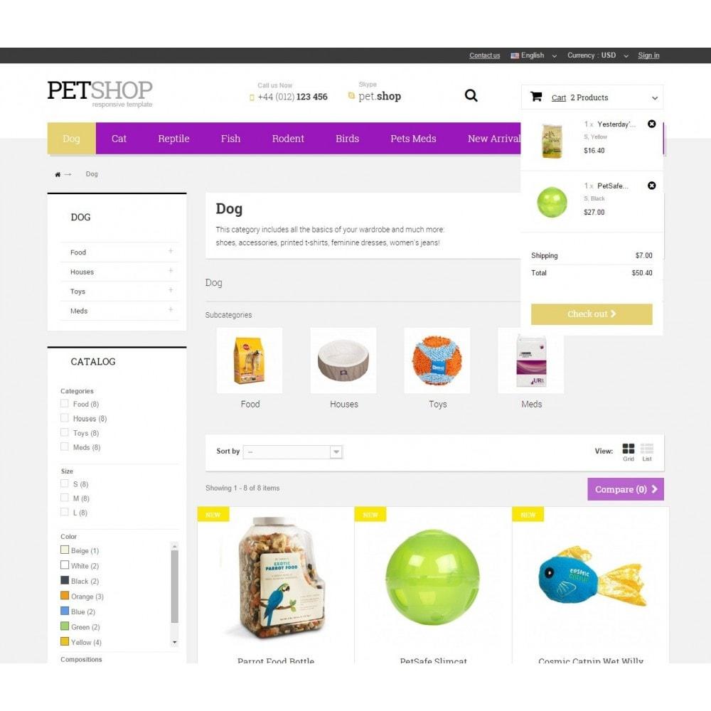 theme - Zwierzęta - Pet Shop - 6