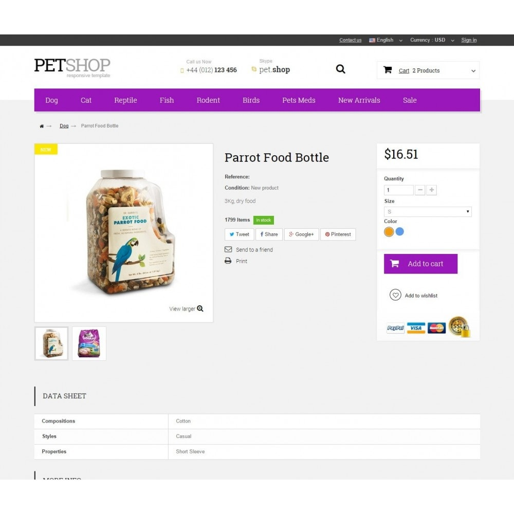 theme - Zwierzęta - Pet Shop - 8