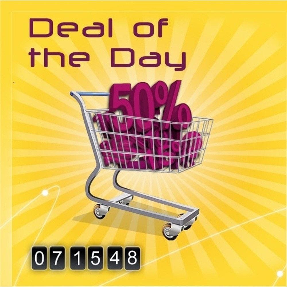 module - Ventas Privadas y Ventas Flash - Deal of the day - 1