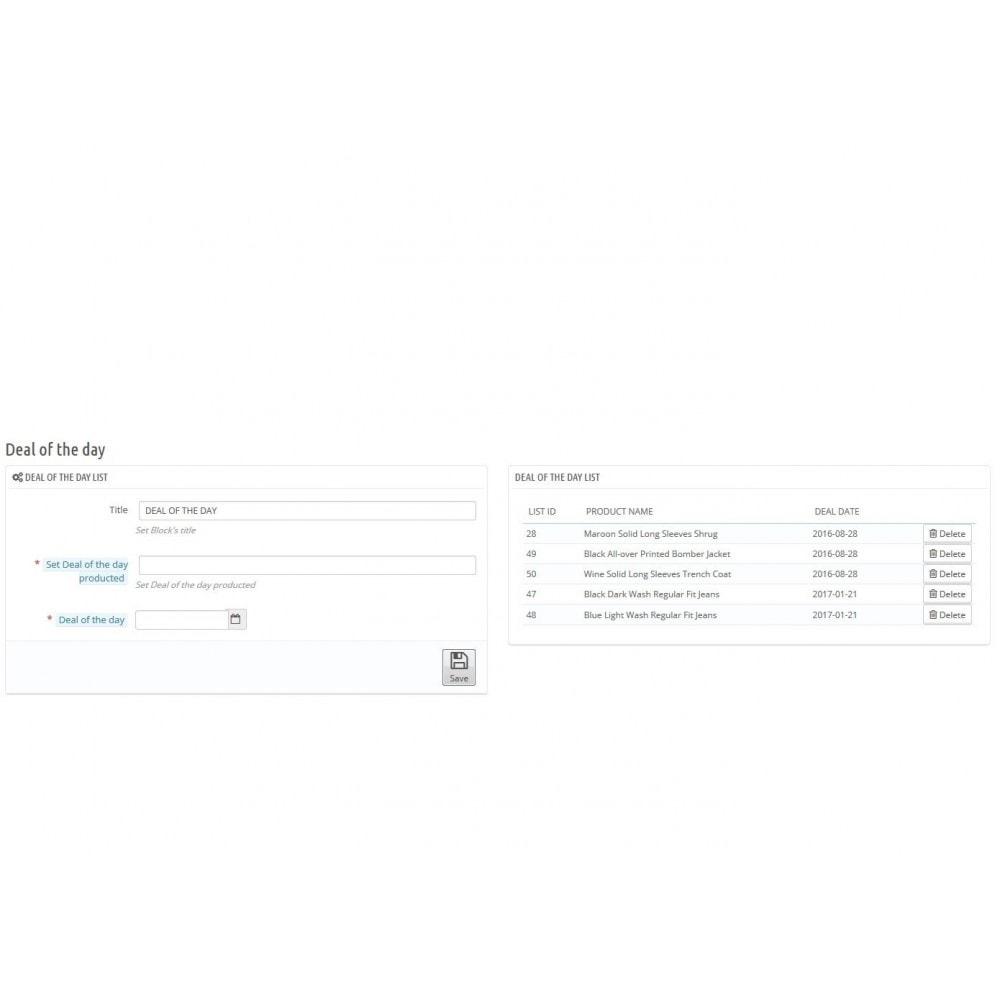 module - Закрытых и рекламных распродаж - Deal of the day - 3