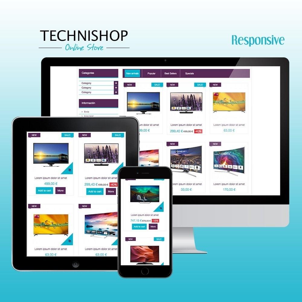 theme - Elektronik & High Tech - Technishop Store - 1
