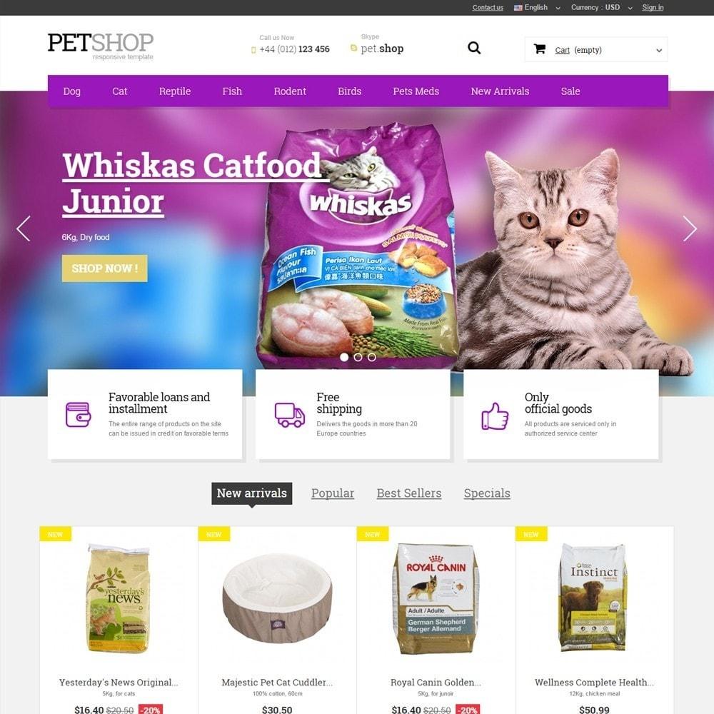 theme - Zwierzęta - Pet Shop - 1