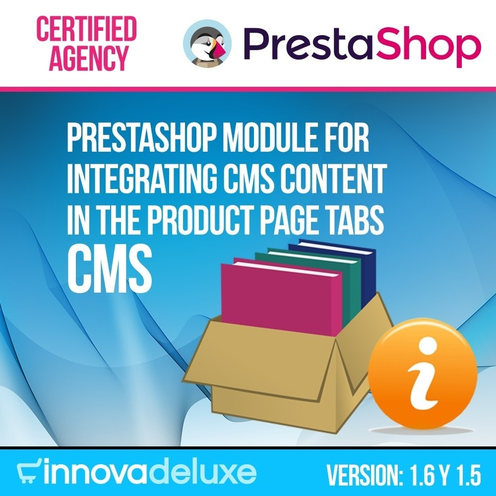 module - Дополнительной информации и вкладок товара - Information pages (CMS) in Product Tab - 1