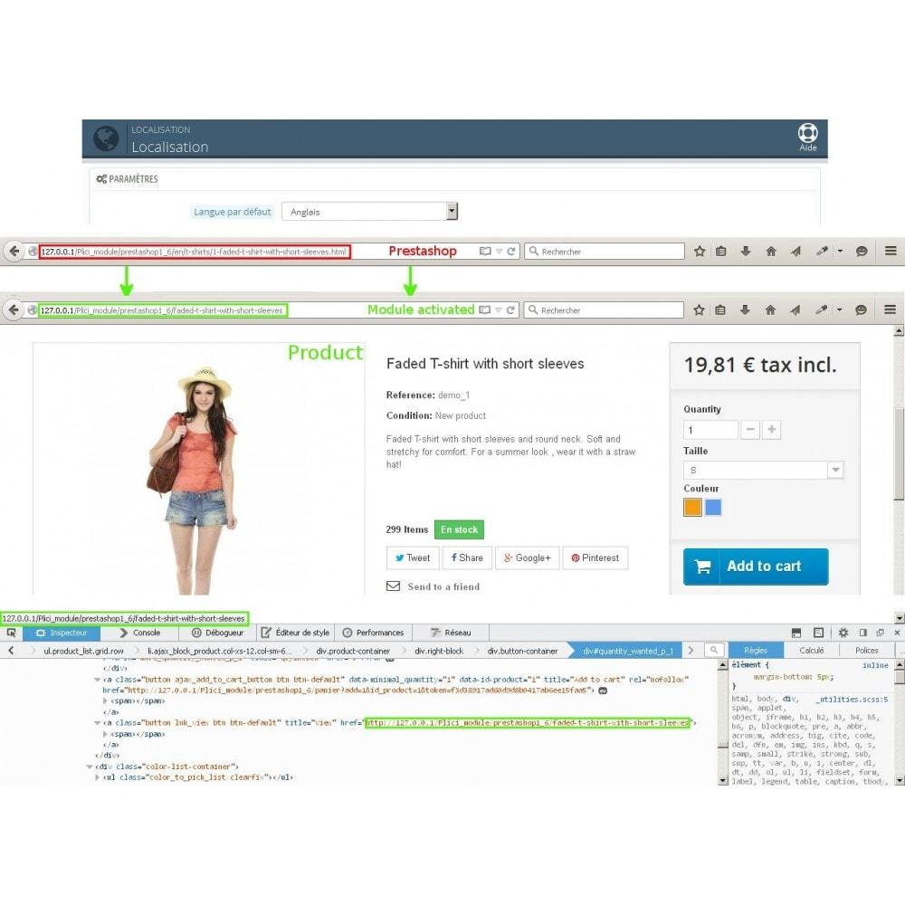 module - URL & Redirect - Url cms produits categories modifier - 9